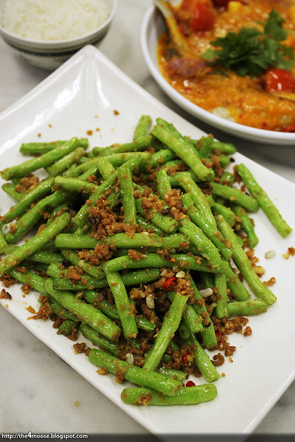 Alexandra Village Food Centre - French Beans