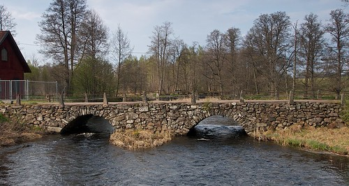 Bridge across Bergkvarasjön inlet