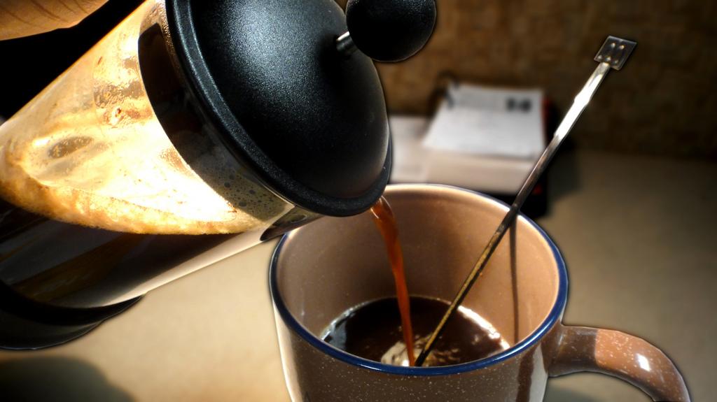 Catando café