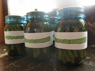 hot pickled asparagus