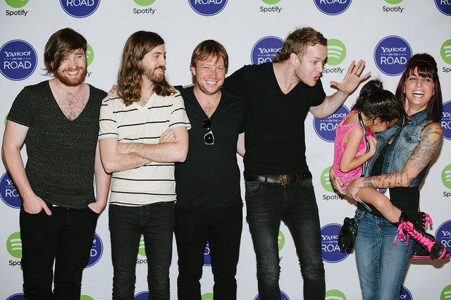 Yahoo on the road imagine dragons meet greet in st louis a imaginedragons meet greet with stlouis fans before their yahoo on m4hsunfo