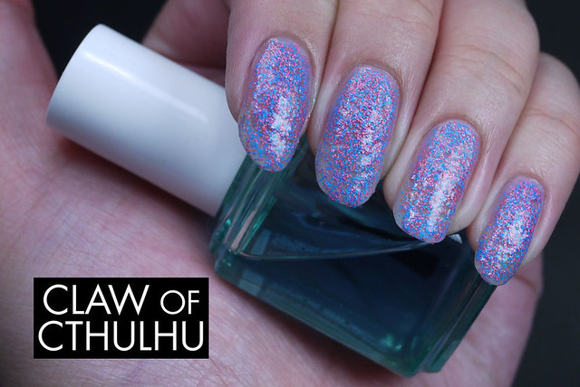 Daily Lacquer Fluffy Cotton Candy Swatch (Two coat)