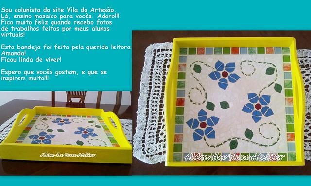 Como fazer mosaico