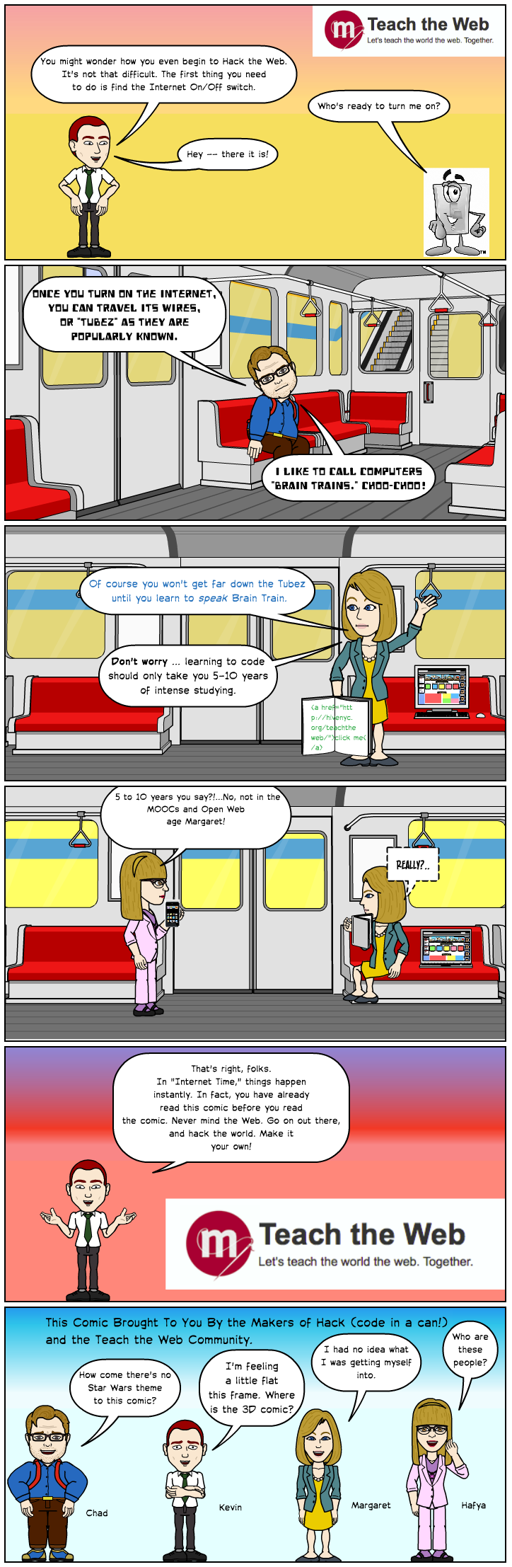 hack the web bitstrips comic