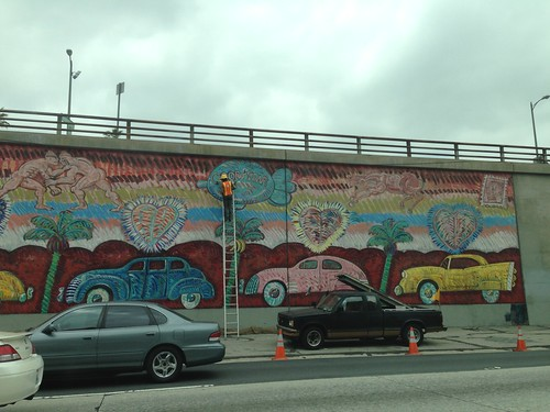 LA Freeway Muralist by lucky_clover
