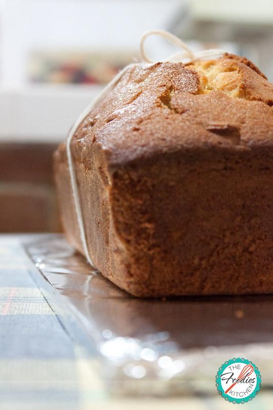 Brown Sugar Maple Pound Cake