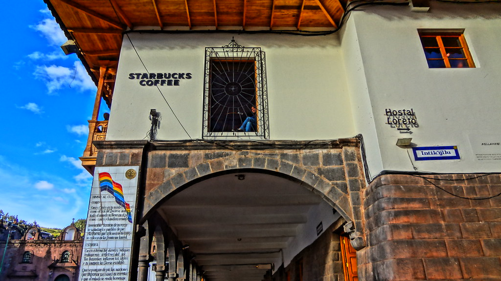 Cusco Peru Starbucks