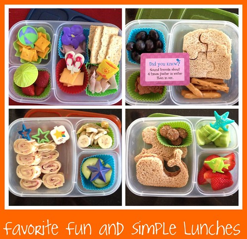 Favorite Fun and Simple Lunches for 2012-2013