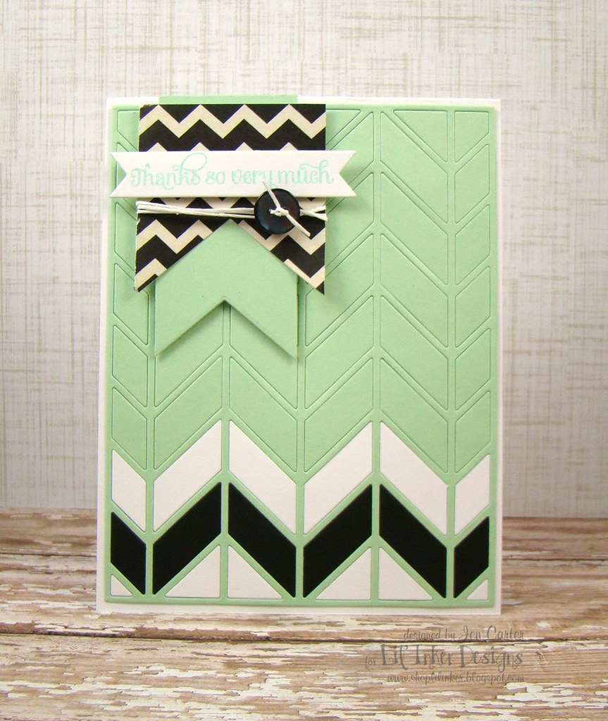 Mint Chevron 1