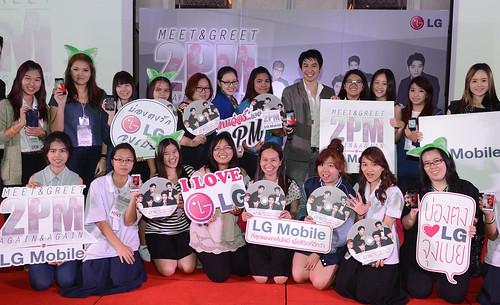 LG전자와 태국 소비자의 모습