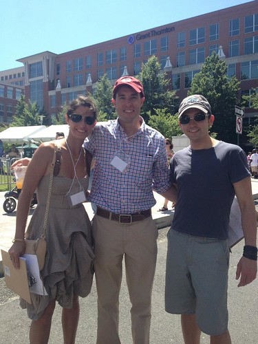 Kelly Collis, Scott Thuman, Tommy McFly at Alexandria's Food and Wine Festival 2013 by Maurisa Potts