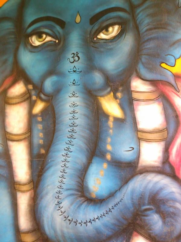 Ganesh í miðbæ Rvk
