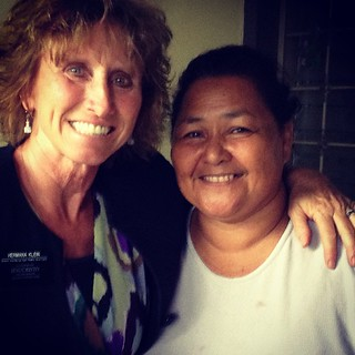 This humble wonderful women fed us today when we were starving! Our first and I'm certain the best Honduran meal - gracias Hermana :)