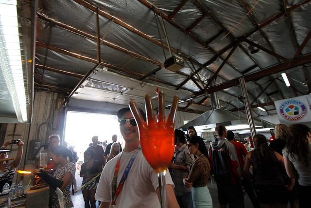 Zach's hand