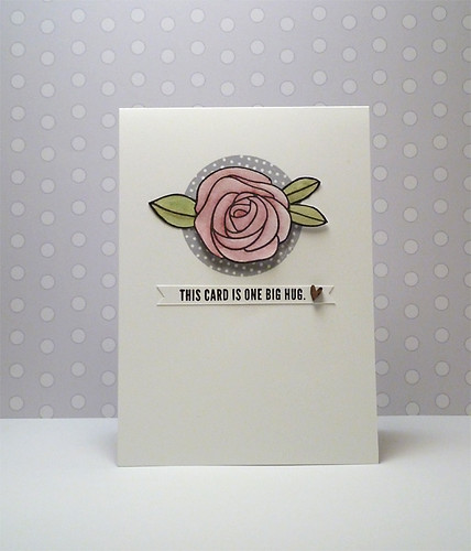 This card is one big hug #166