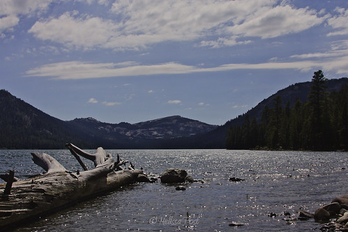 california sky cloud mountain lake nature landscape log sierranevadarange independencelake sierracounty mtlola