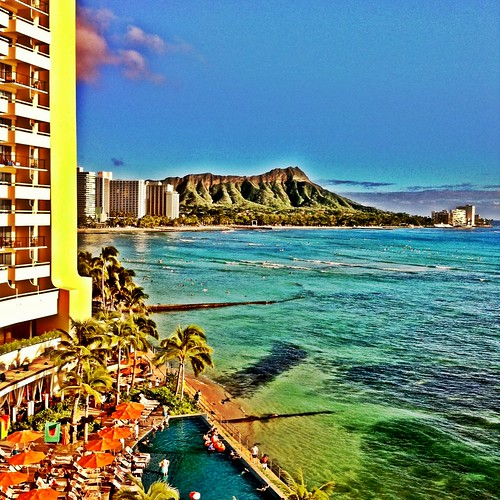 View of Diamond Head