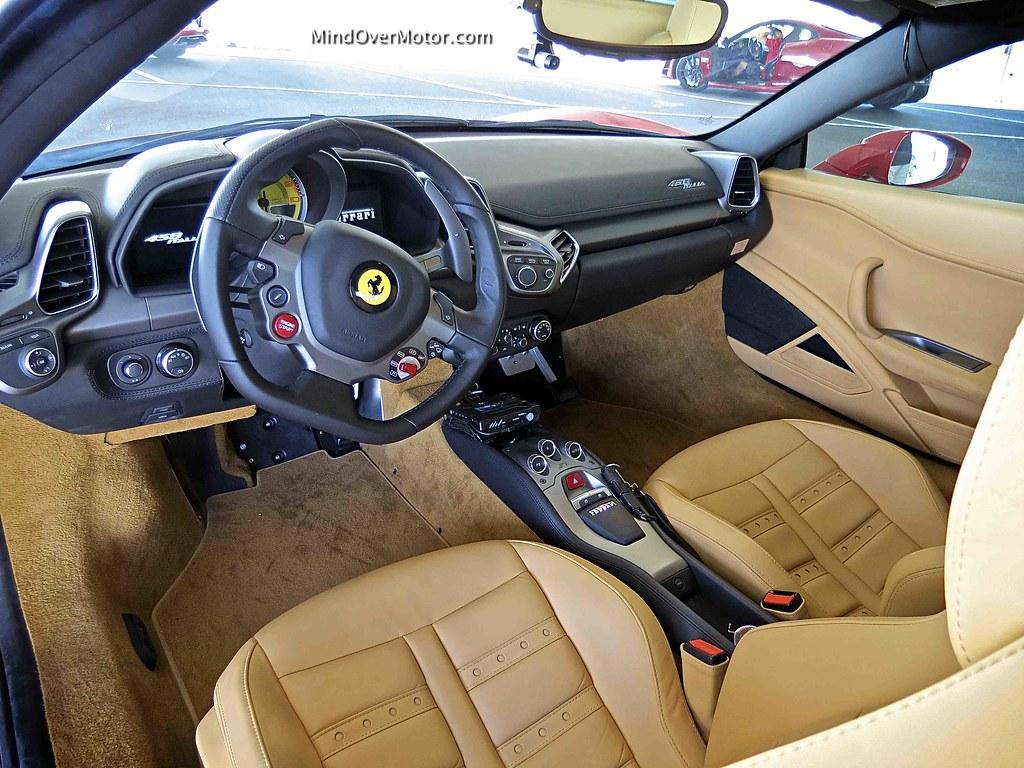 Test driven ferrari 458 italia 1010 mind over motor ferrari 458 italia interior vanachro Gallery