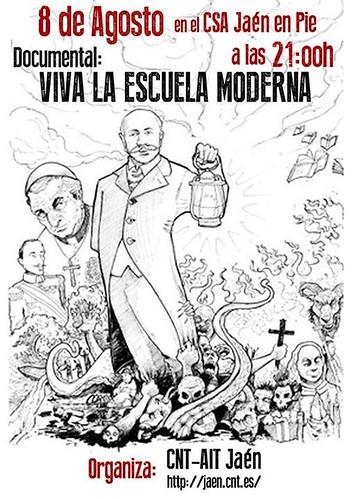 "Vídeo-Fórum: ""Viva la Escuela Moderna"""