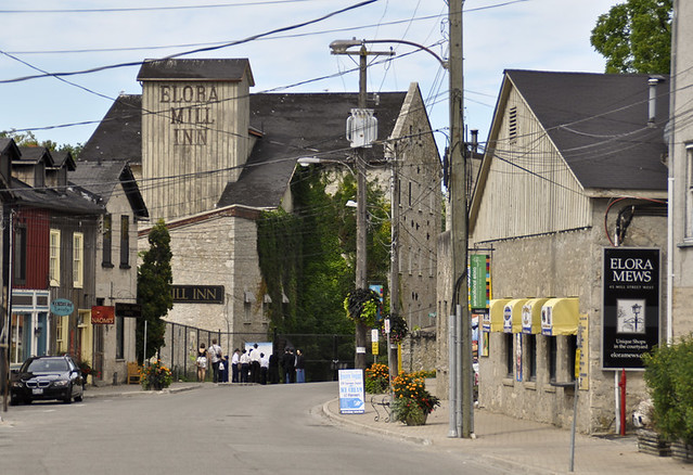Photos of Elora Ontario - the Elora Mill Inn