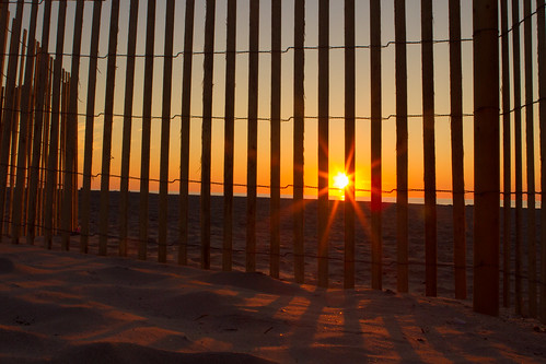 ocean vacation beach sunrise fence dune nj stoneharbor rejected 201310