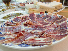 Spanish Tapas on the table