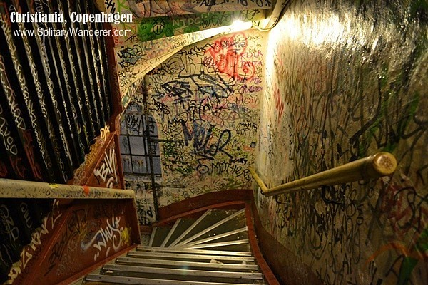 christiania restaurant stairs