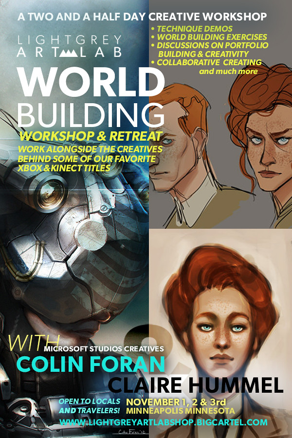 Colin Foran & Claire Hummel's :WORLD BUILDER WORKSHOP!