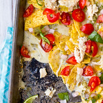 Hatch Chile and Chicken Nachos