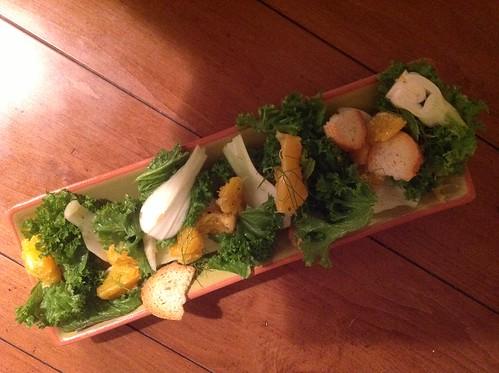 Fennel and orange salad with lemon-ginger vinaigrette Jackie
