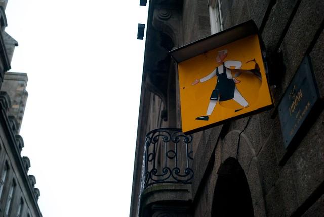 Saint Malo旧市街。