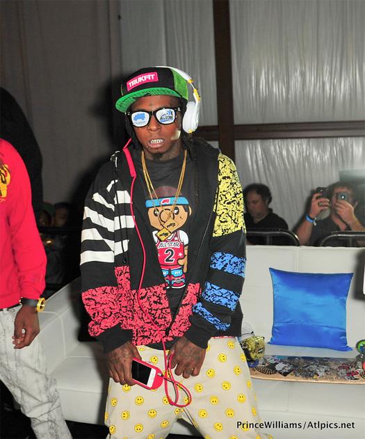 Lil Wayne 2012 All-Star Weekend Style