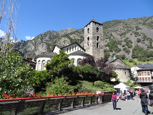 Andorra la Vella, main church.
