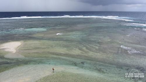 kite photography photo lagoon aerial tahiti kap reef aérienne lagon récif tautira fenua aihere
