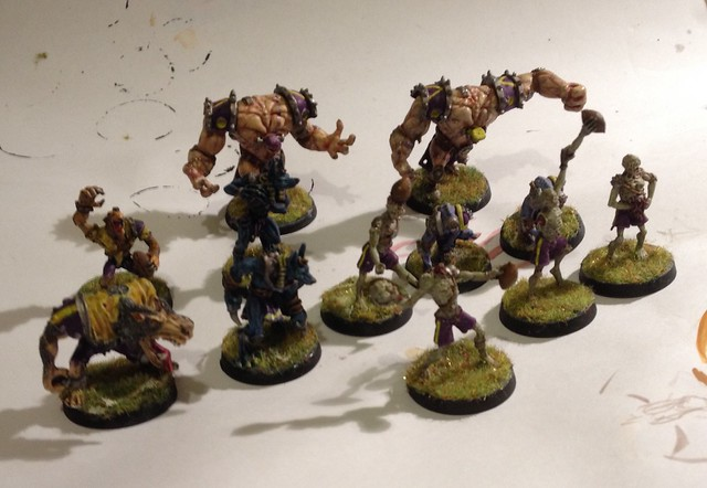 Blood Bowl team. Necromantiques