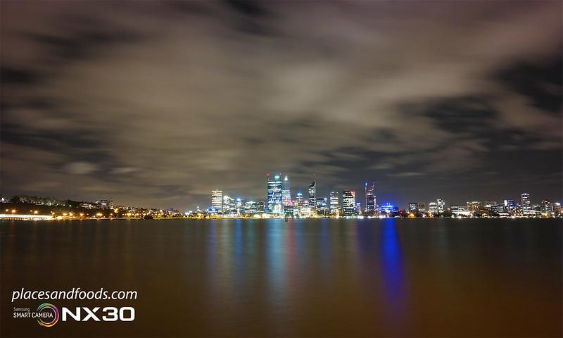 perth city night view