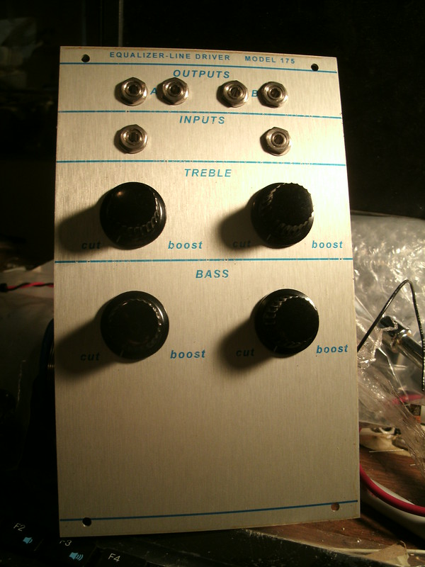 Buchla 175 Equalizer Line Driver clone