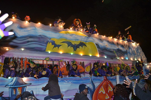 Halloween float