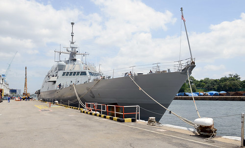 USS Fort Worth Arrives at Navy Region Singapore for Crew Swap