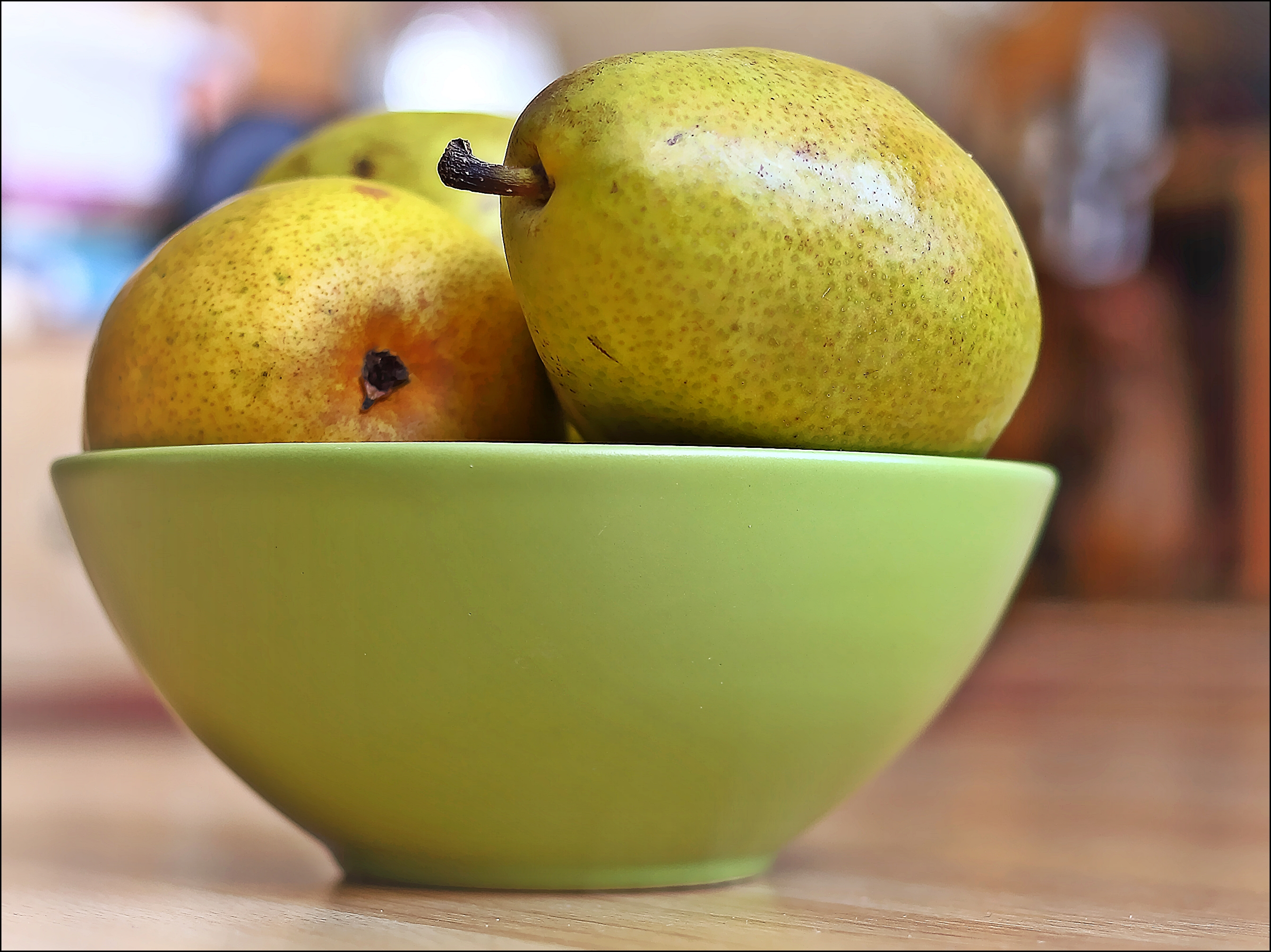 The Weekly Colour Challenge: Chartreuse. canon, pears, chartreuse, bowl, 6d, theweeklycolourchallenge. buy photo