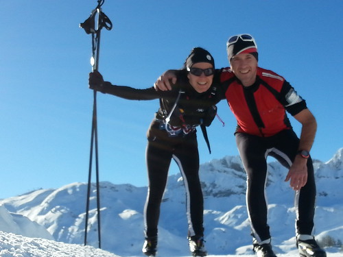 Este año hacemos txanda pasa al esquí de fondo