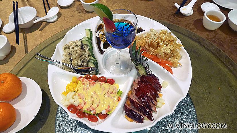 Cold dish platter