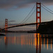 Golden Gate Bridge with Reflections by louisraphael