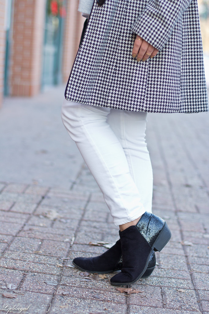 houndstooth coat, white denim, glitter booties-6.jpg