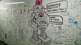 Robot on Whiteboard