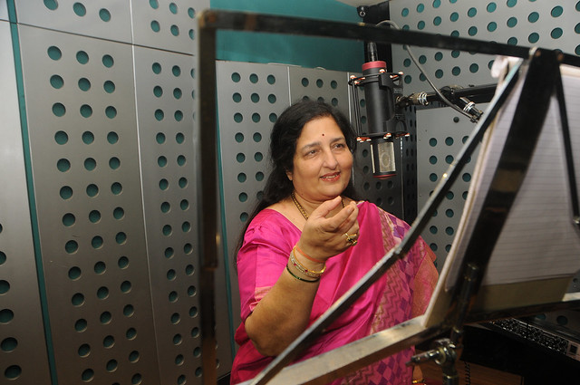 6. Anuradha Paudwal Recording Song DSC_2977