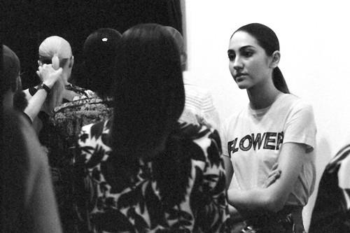 LFWE Feb 2015 - Backstage Shots