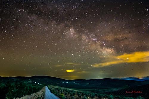 Noche en la campiña