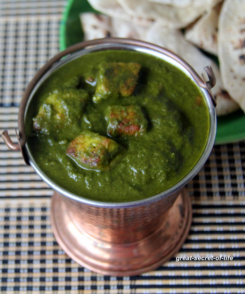 how to prepare palak paneer without onion and garlic