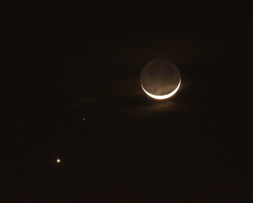 Venus Mars Moon in conjunction,  2-20-15